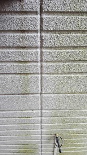 外壁塗装の汚れ